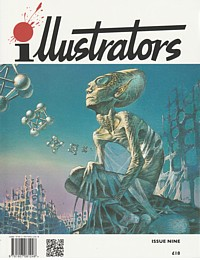 Illustrators magazine cover